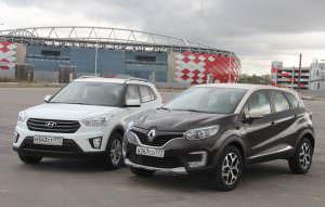 Сравнение Hyundai Creta и Renault Kaptur